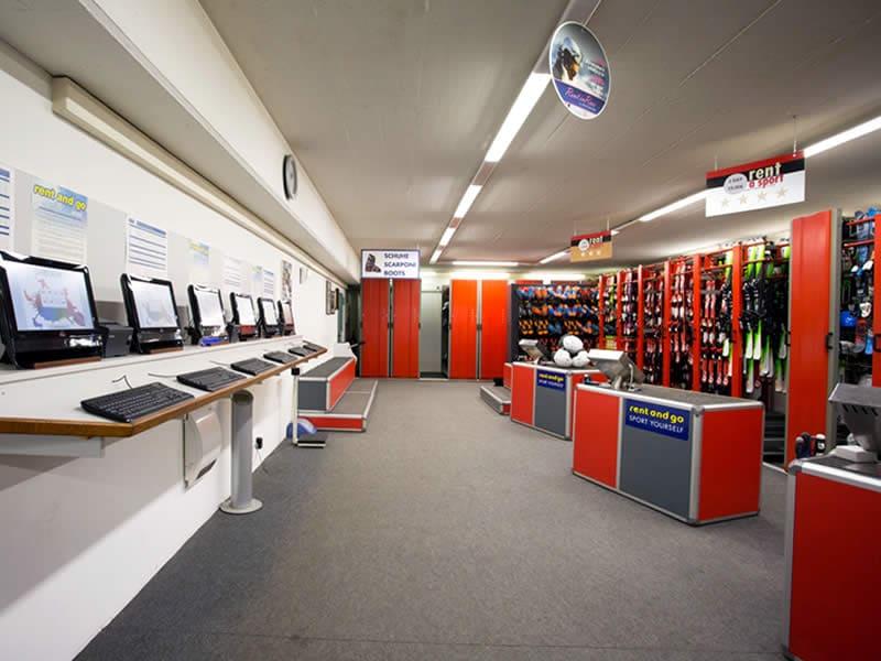 Magasin de location de ski Sportservice Erwin Stricker à Via Petschied 2, Lüsen