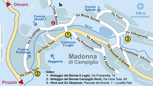 Plan Madonna di Campiglio
