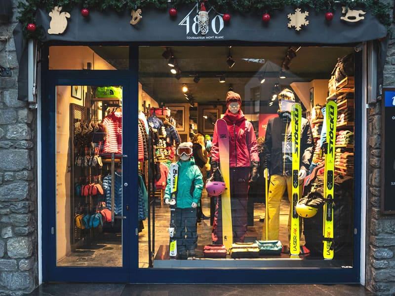 Magasin de location de ski 4810 rental, Village Grivel Via des Forges, 3 à Courmayeur