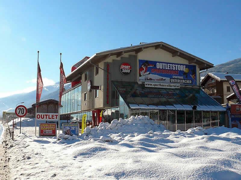 Magasin de location de ski SPORT 2000 Unterlercher à Zillertalstrasse 10, Fügen