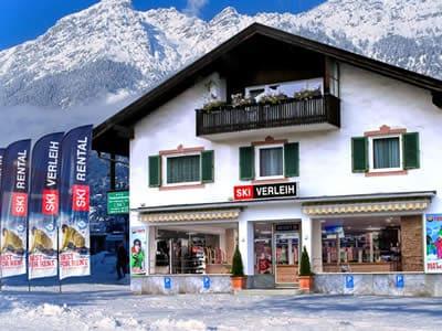 Magasin de location de ski Skiverleih Garmisch, Garmisch-Partenkirchen à Zugspitzstraße 68