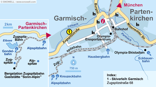 Plan Garmisch-Partenkirchen